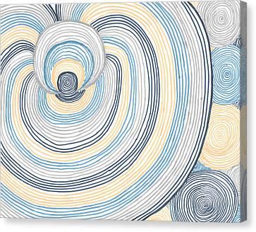 Canvas Print featuring the photograph Portal by Jill Lenzmeier