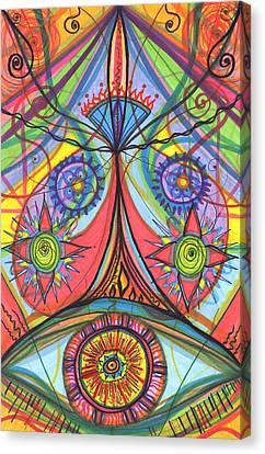 Daina Canvas Print - Portal Of Desire by Daina White