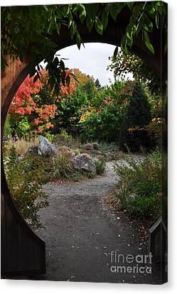 Portal To Paradise Canvas Print