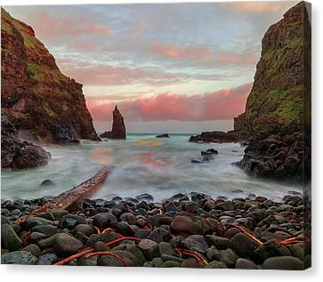 Portcoon Canvas Print by Roy McPeak
