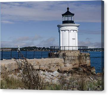 Portland Breakwater Lighthouse, Maine Canvas Print