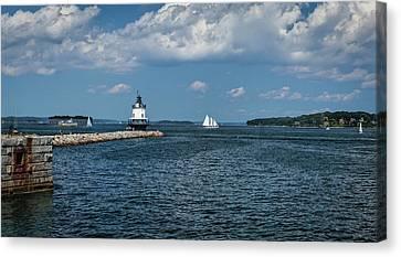 Portland Harbor, Maine Canvas Print