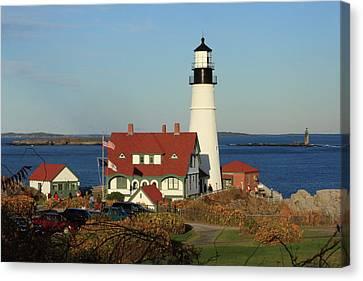 Portland Head Lighthouse 2 Canvas Print