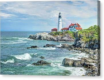 Portland Head Lighthouse #3 Canvas Print by Joe Granita
