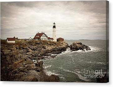 Portland Head Lighthouse Canvas Print by A New Focus Photography