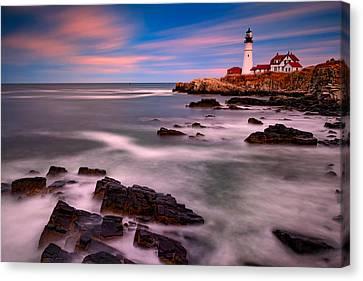 Portland Head Lighthouse Canvas Print by Rick Berk