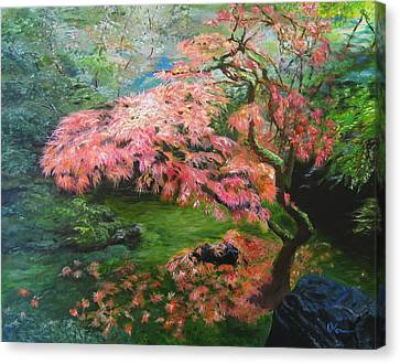 Portland Japanese Maple Canvas Print