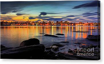 Portland Maine Canvas Print by Benjamin Williamson