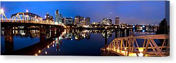 Portland Oregon Skyline Canvas Print