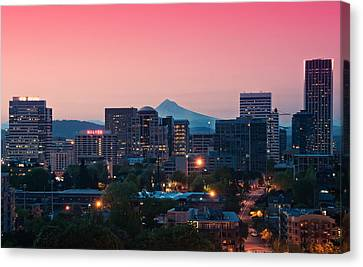 Portland Sunrise Canvas Print by Brian Bonham