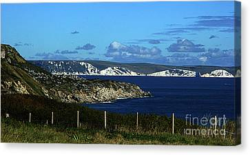 Portland To Weymouth  Canvas Print by Stephen Melia