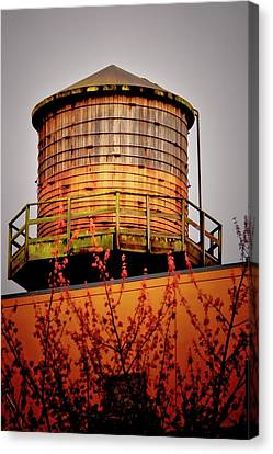 Portland Water Tower IIi Canvas Print by Albert Seger
