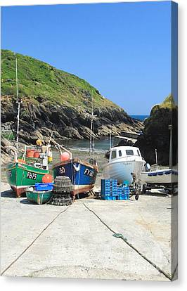 Portloe Canvas Print by Carl Whitfield