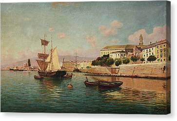 Porto Di Malaga Canvas Print