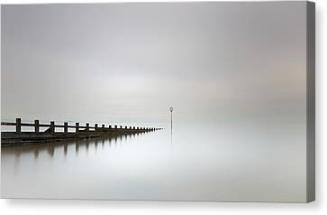 Canvas Print featuring the photograph Portobello, Edinburgh by Grant Glendinning