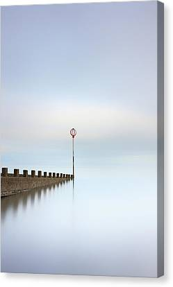Canvas Print featuring the photograph Portobello Long Exposure by Grant Glendinning