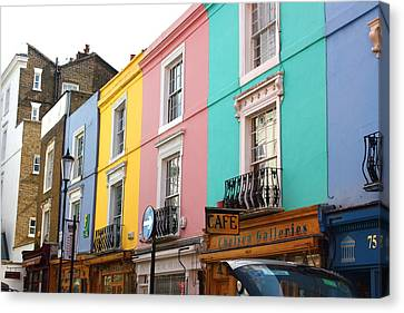 Portobello Road 02 Canvas Print by Yvonne Ayoub