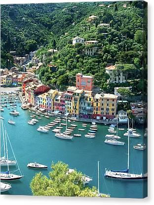 Portofino 3 Canvas Print by Al Hurley