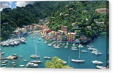 Portofino Canvas Print by Al Hurley