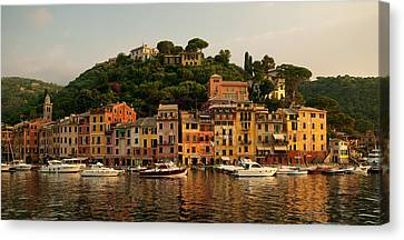 Portofino Bay Canvas Print