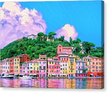 Portofino Canvas Print by Dominic Piperata