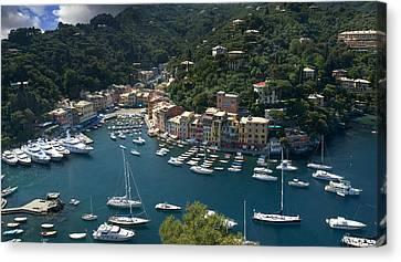 Portofino In Tuscany Canvas Print by Al Hurley