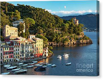 Portofino Morning II Canvas Print by Brian Jannsen