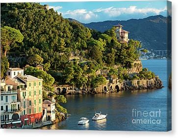 Portofino Morning IIi Canvas Print by Brian Jannsen