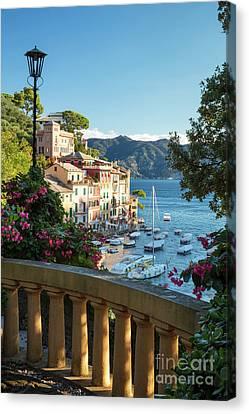 Portofino Overlook Canvas Print by Brian Jannsen