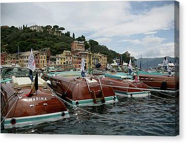 Portofino Canvas Print by Steven Lapkin