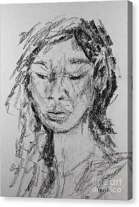 Portrait 1820 Canvas Print by Robert Yaeger