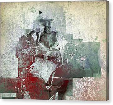 Canvas Print featuring the photograph Portrait Abstract Variation #04 by Richard Wiggins