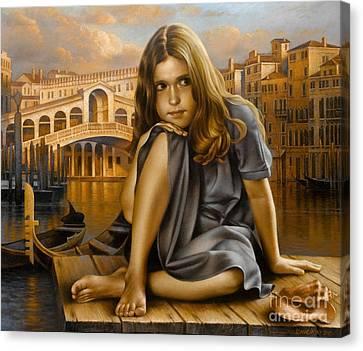 Portrait Canvas Print by Arthur Braginsky