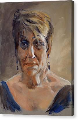 Portrait Demo Feb 20 Canvas Print by Christopher Reid