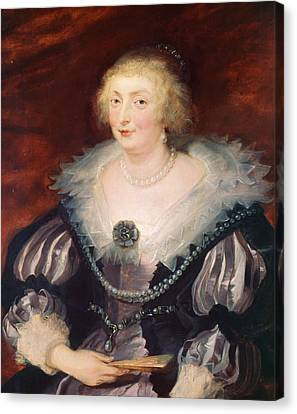 Portrait Of A Lady Canvas Print by Peter Paul Rubens