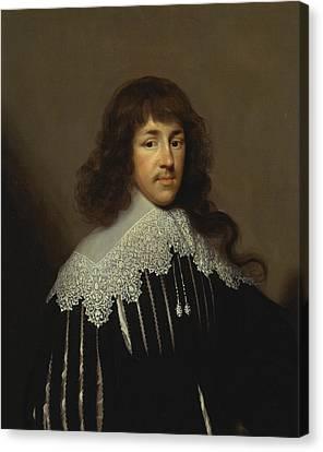 Portrait Of A Man, Probably Sir Francis Godolphin Canvas Print