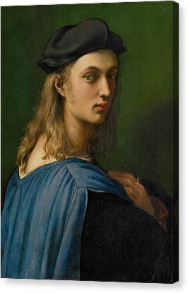 Portrait Of Bindo Altoviti Canvas Print