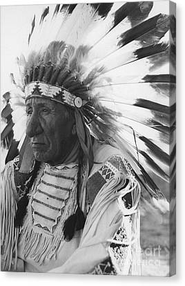 Portrait Of Chief Red Cloud Canvas Print by Stocktrek Images