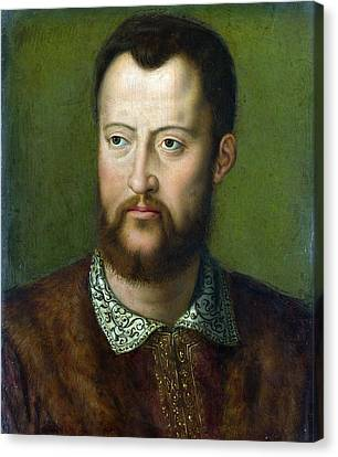 Portrait Of Cosimo I De' Medici Grand Duke Of Tuscany Canvas Print