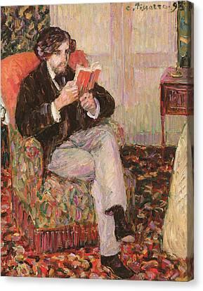 Portrait Of Felix Canvas Print
