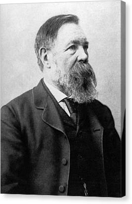Portrait Of Friedrich Engels Canvas Print