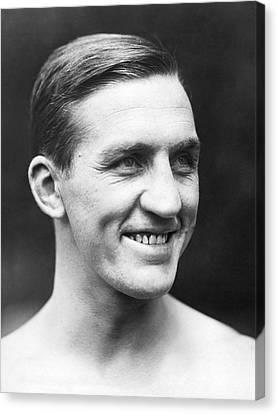 Boxer Canvas Print - Portrait Of George Carpentier by Underwood Archives
