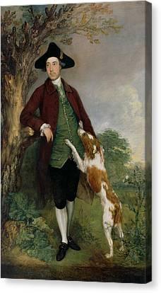 Portrait Of George Venables Vernon Canvas Print
