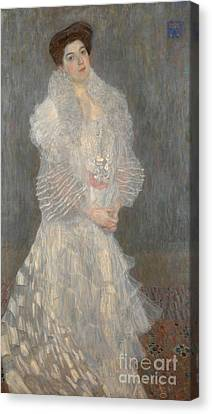 Portrait Of Hermine Gallia Canvas Print by Celestial Images