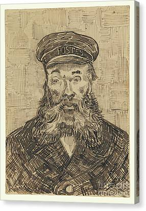 Munch Canvas Print - Portrait Of Joseph Roulin By Vincent Van Gogh by Esoterica Art Agency