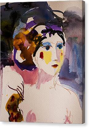 Portrait Of Joy Canvas Print