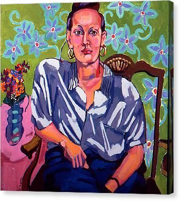 Portrait Of Karen Canvas Print