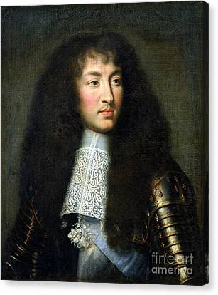 Portrait Of Louis Xiv Canvas Print