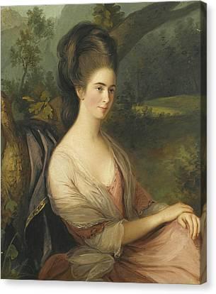 Portrait Of Miss Charlotte Dee Canvas Print