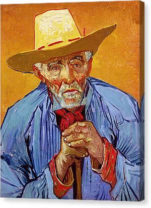 Portrait Of Patience Escalier Canvas Print by Vincent van Gogh
